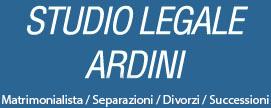 Studio Legale Ardini - Avvocato Matrimonialista - Divorzista - Successioni
